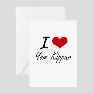 I love yom kippur greeting cards cafepress i love yom kippur greeting cards m4hsunfo