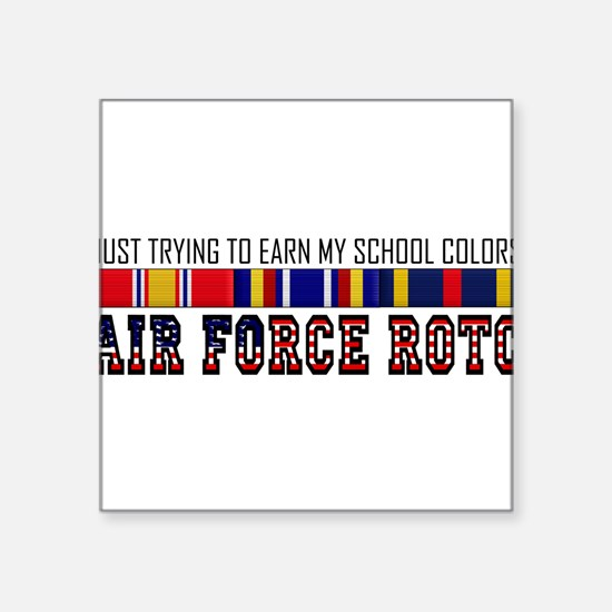 "Cute Reserve officer training corps Square Sticker 3"" x 3"""