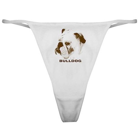 Bulldog HS Brown Classic Thong