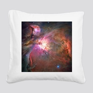Orion Nebula (M42 / NGC 1976) Square Canvas Pillow