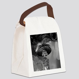 Mexican Catrina Canvas Lunch Bag