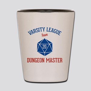Varsity League - Dungeon Master Shot Glass