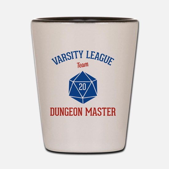 Varsity League - Dungeon Master Shot Glass