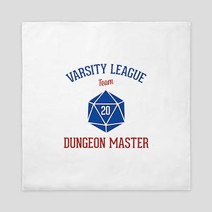 Varsity League - Dungeon Master Queen Duvet