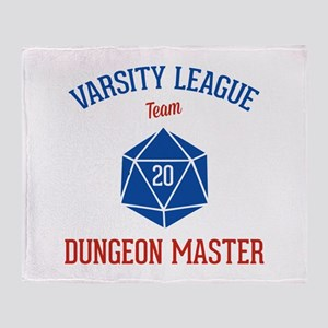 Varsity League - Dungeon Master Throw Blanket