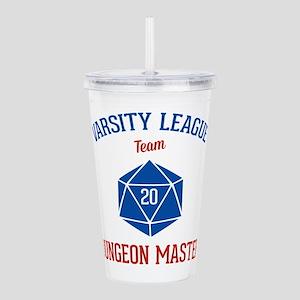 Varsity League - Dunge Acrylic Double-wall Tumbler