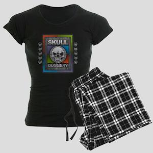 Skull Duggery Women's Dark Pajamas