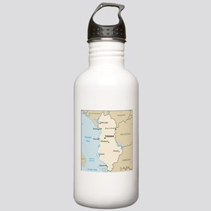 Albanian Map Stainless Water Bottle 1.0L