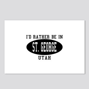 I'd Rather Be in St. George, Postcards (Package o