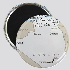 Algerian Map Magnets
