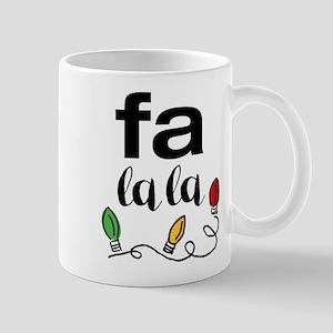 Fa La La Mugs