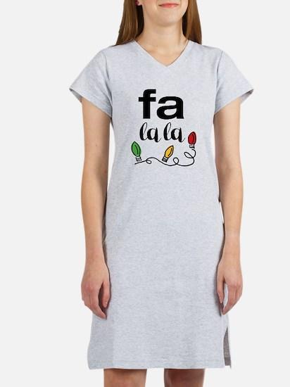 Fa La La Women's Nightshirt