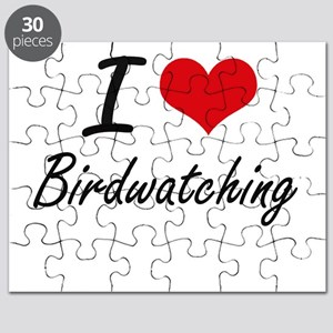 I love Birdwatching Puzzle