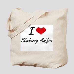 I love Blueberry Muffins Tote Bag