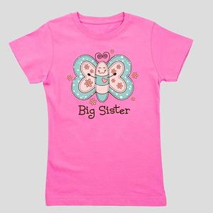 Butterfly Big Sis Girl's Tee