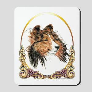 Shetland Sheepdog Sheltie Holiday Mousepad