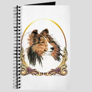 Shetland Sheepdog Sheltie Holiday Journal