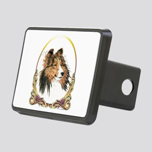 Shetland Sheepdog Sheltie Rectangular Hitch Cover