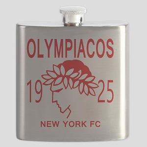 Olympiacos NY FC Flask