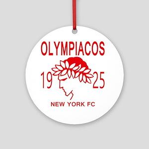 Olympiacos NY FC Round Ornament