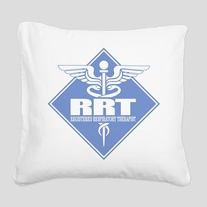 RRT (diamond) Square Canvas Pillow