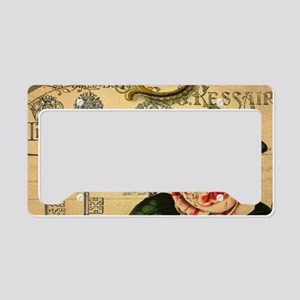 shabby chic french country ro License Plate Holder