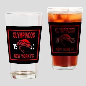 OLYMPIACOS NY FC 2 Drinking Glass