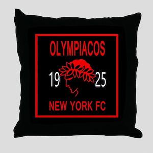 OLYMPIACOS NY FC 2 Throw Pillow