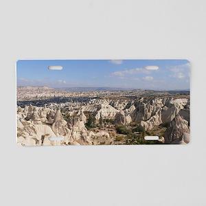 CAPPADOCIA 3 Aluminum License Plate