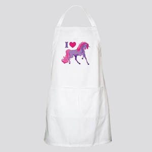 I Love Unicorns Apron