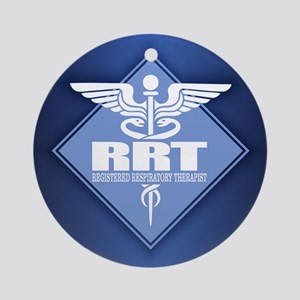 RRT (diamond) Round Ornament