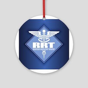 RRT (diamond) Round Ornament