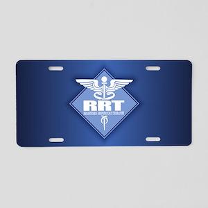 RRT (diamond) Aluminum License Plate