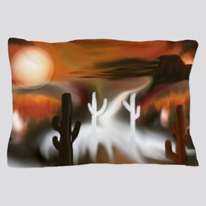 Southwest Fire and Ice Pillow Case