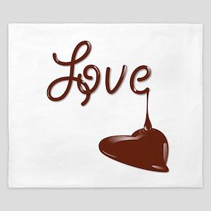 Love chocolate King Duvet