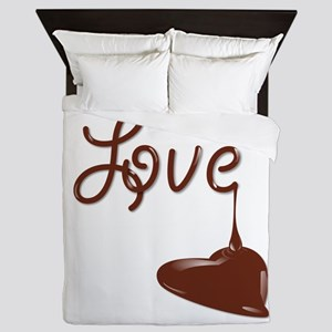 Love chocolate Queen Duvet