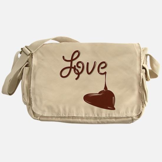 Love chocolate Messenger Bag