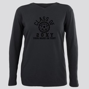 Class of 20?? Soccer Plus Size Long Sleeve Tee