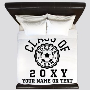 Class of 20?? Soccer King Duvet