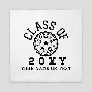 Class of 20?? Soccer Queen Duvet