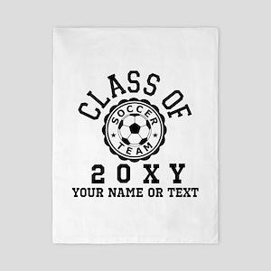 Class of 20?? Soccer Twin Duvet