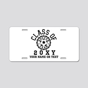 Class of 20?? Soccer Aluminum License Plate