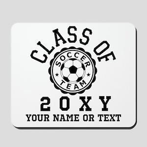 Class of 20?? Soccer Mousepad
