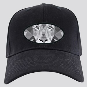 Gray Lion Black Cap