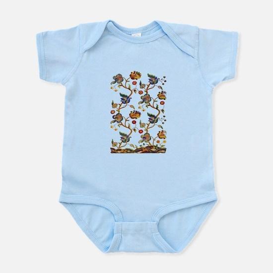 Albermarle Jacobean Embroidery Infant Bodysuit