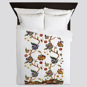 Albermarle Jacobean Embroidery Queen Duvet