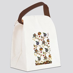 Albermarle Jacobean Embroidery Canvas Lunch Bag