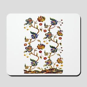 Albermarle Jacobean Embroidery Mousepad