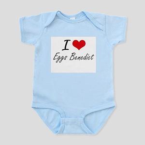 I love Eggs Benedict Body Suit