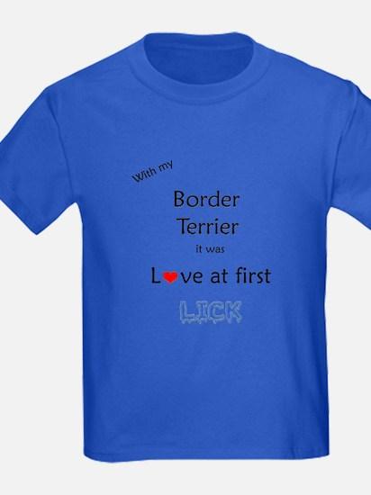 Border Terrier Lick T